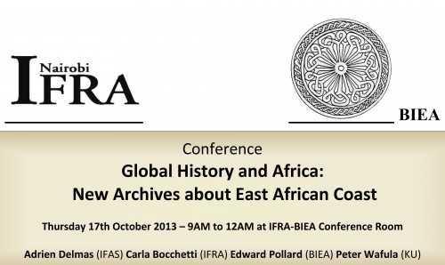 Global History and Africa Nairobi